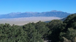 Great Sand Dunes NP and Sangre de Cristo Mountains
