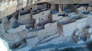 Left side of Cliff Palace