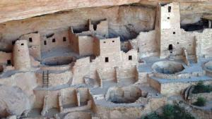 Right side of Cliff Palace