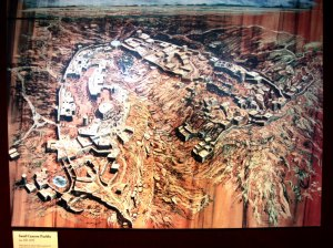 Sand Canyon Pueblo - artist rendering