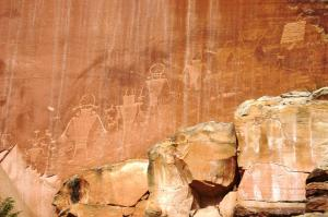 Petroglyphs of aliens?