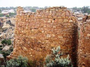 Twin Tower Stonework