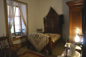 One of the bedrooms in Zanetta House