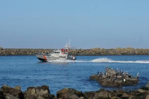 Coast Guard training vessel