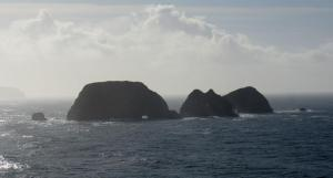 Three Arch Rocks