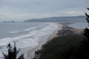 Cape Lookout State Park, Netarts Spit, Cape Meares and Netarts Bay