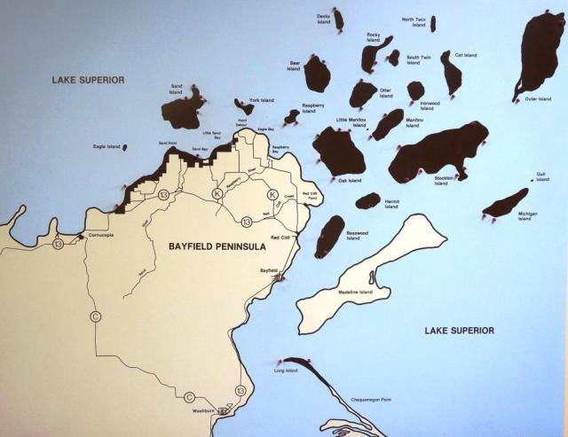 Bayfield Peninsula and Apostle Islands