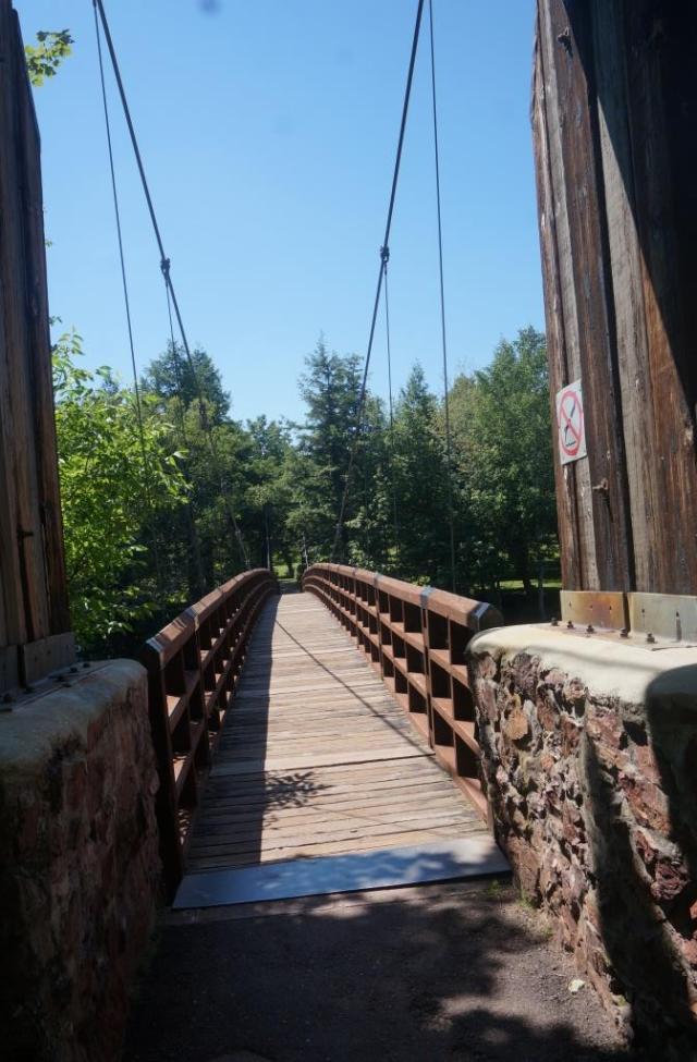 CCC Suspension Bridge