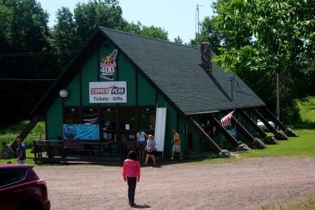 Copper Peak Tickets and Gift Shop