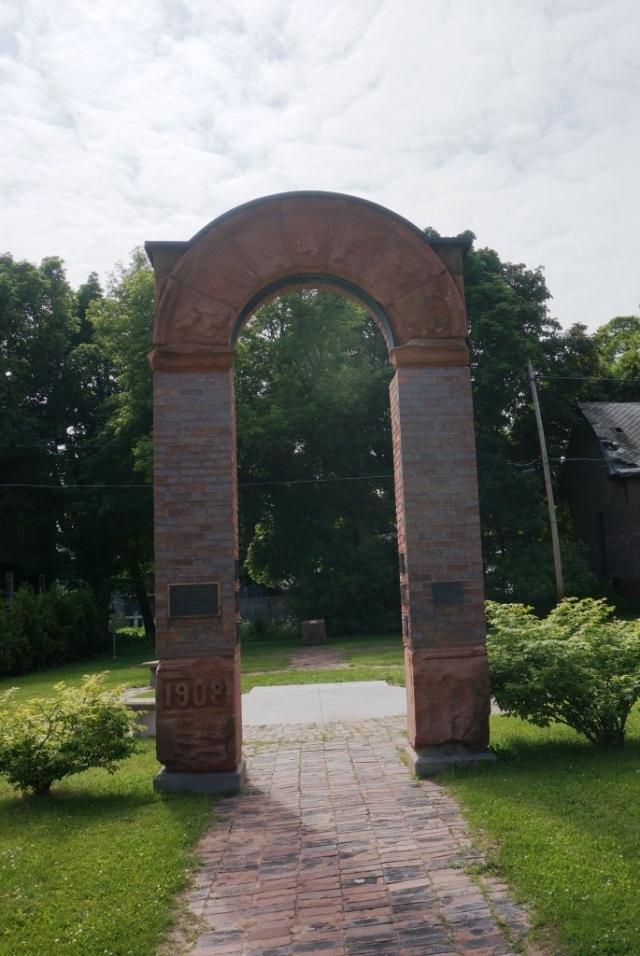 Italian Hall Archway